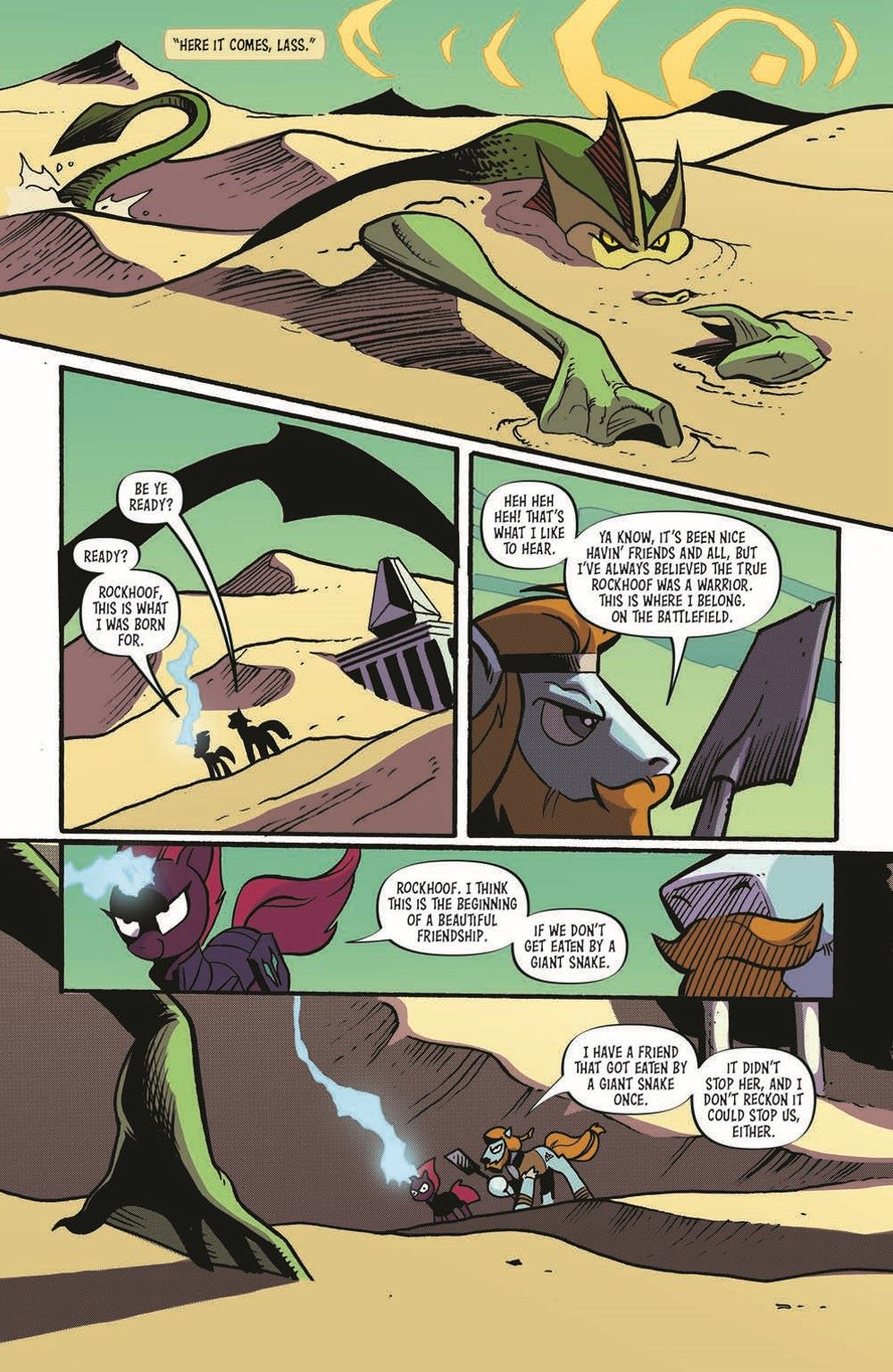 MLP92-pr-3 ComicList Previews: MY LITTLE PONY FRIENDSHIP IS MAGIC #92