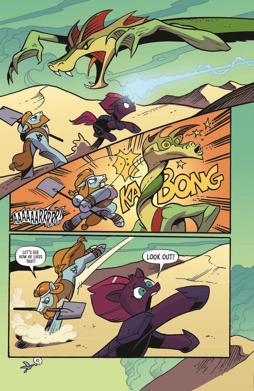 MLP92-pr-4 ComicList Previews: MY LITTLE PONY FRIENDSHIP IS MAGIC #92