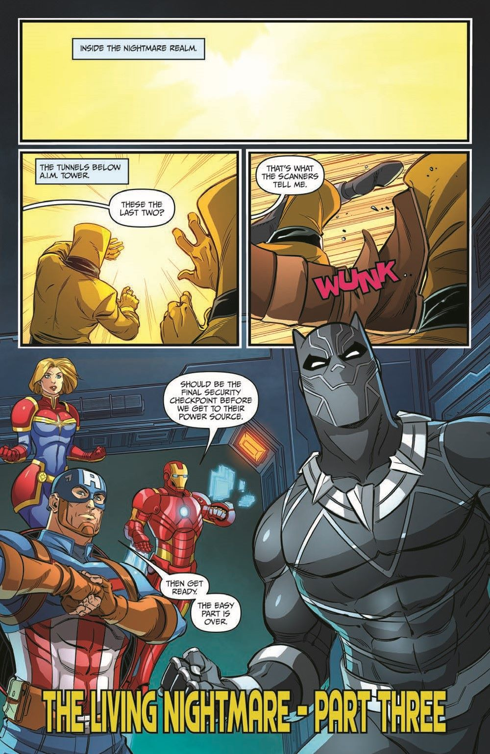 Marvel_Avengers_12_pr-4 ComicList Previews: MARVEL ACTION AVENGERS #12