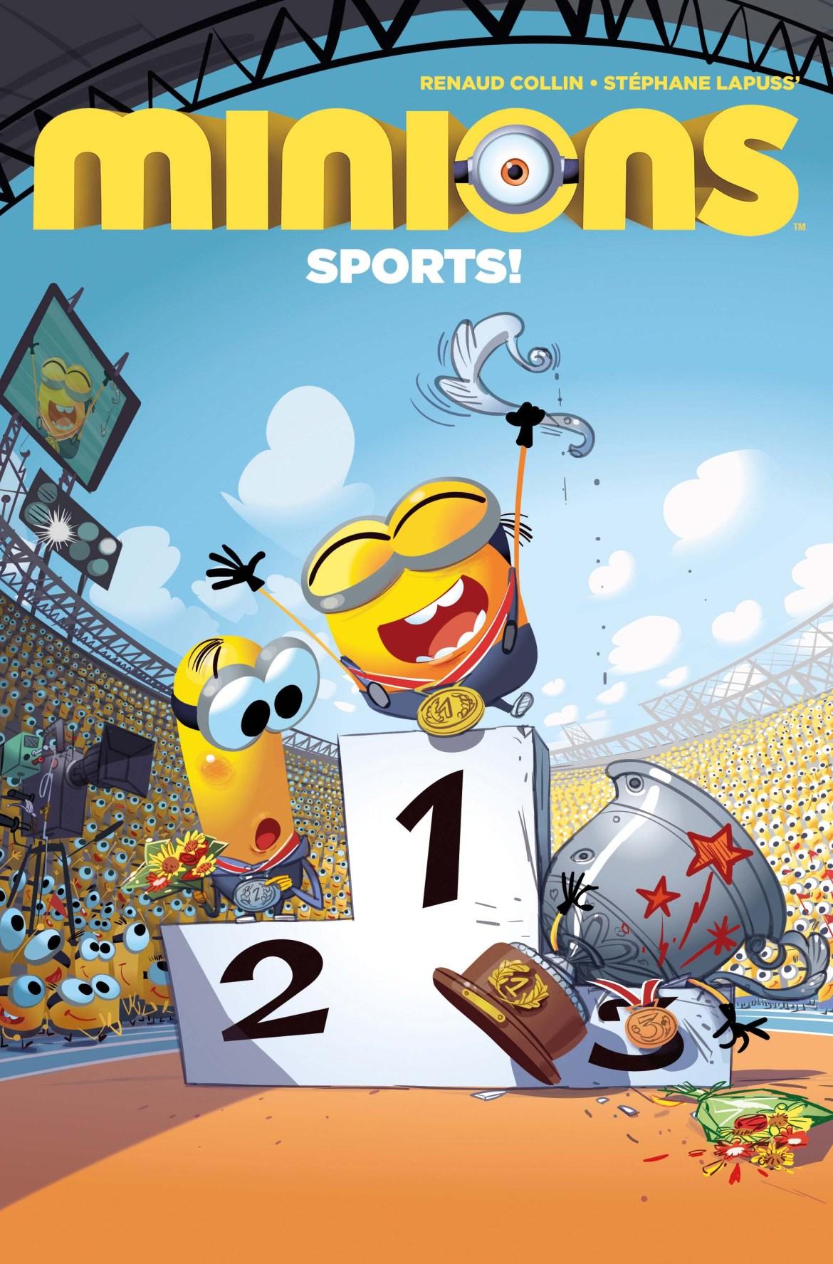 Minions_Sports1_00_Cover Titan Comics March 2021 Solicitations