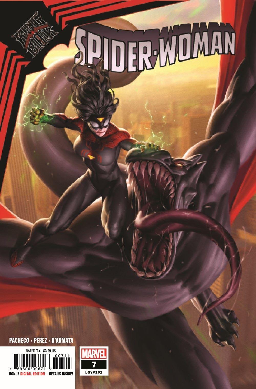 SWOMAN2020007_Preview-1 ComicList Previews: SPIDER-WOMAN #7