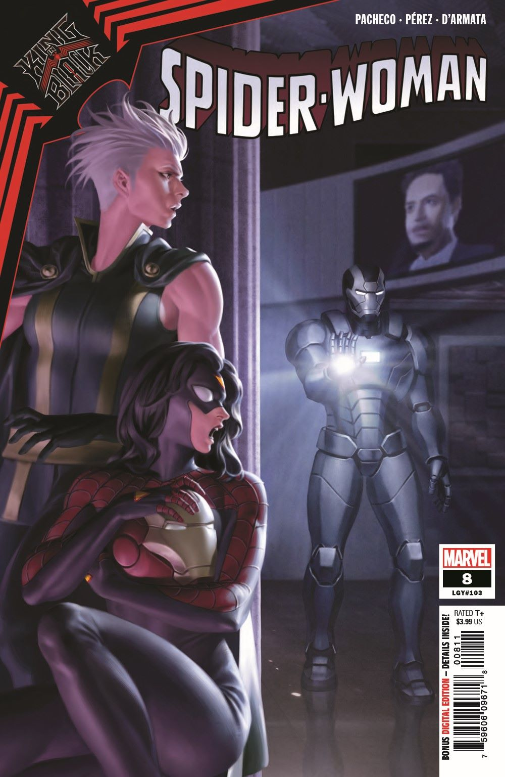 SWOMAN2020008_Preview-1 ComicList Previews: SPIDER-WOMAN #8