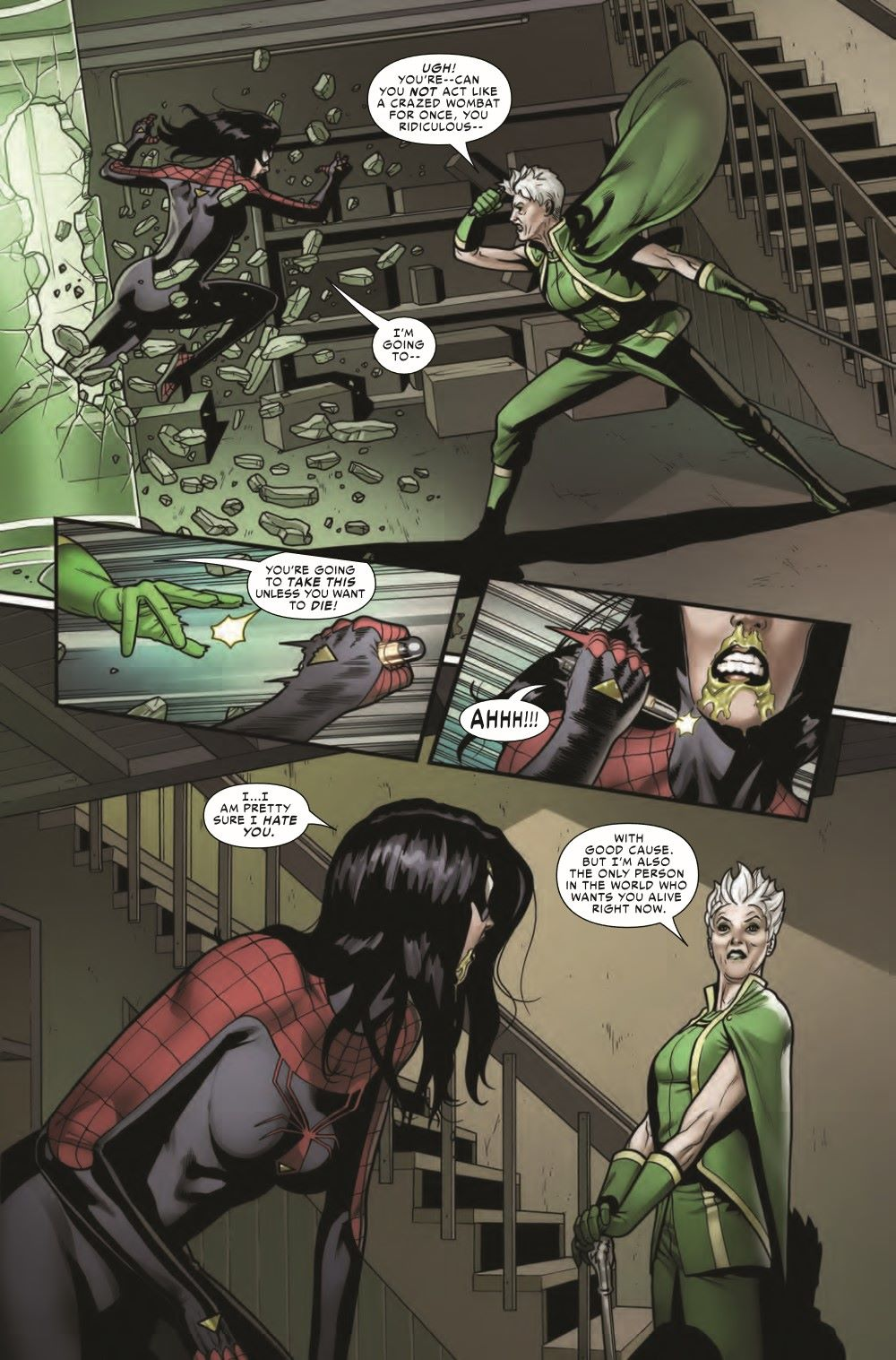 SWOMAN2020008_Preview-4 ComicList Previews: SPIDER-WOMAN #8