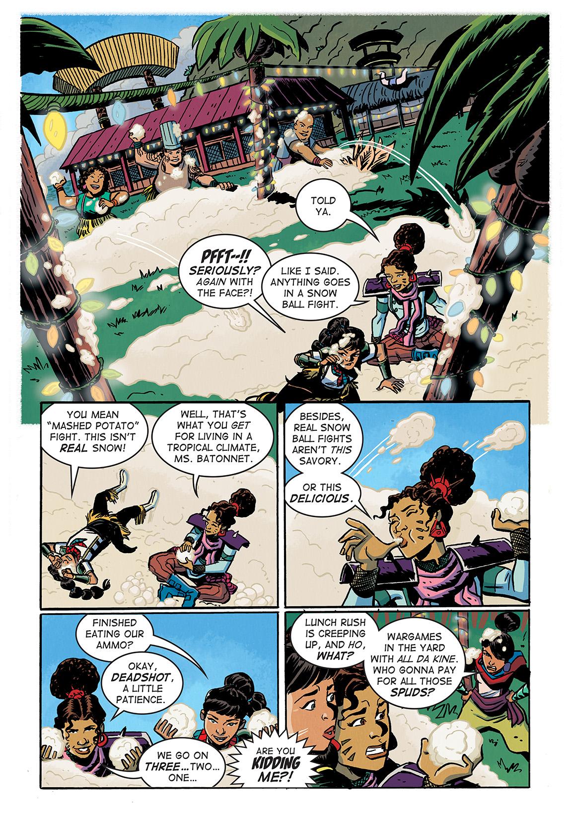 SavorHoliday_Digital_Comic_Color_PG02_Large First Look at Dark Horse Comics' SAVOR TP