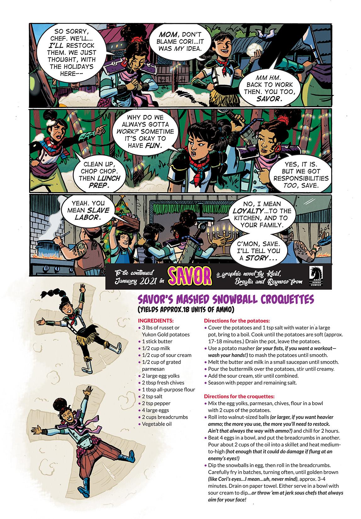 SavorHoliday_Digital_Comic_Color_PG03_Large First Look at Dark Horse Comics' SAVOR TP