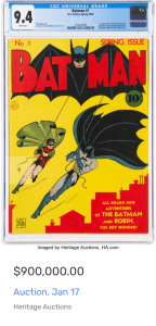 Screen-Shot-2020-12-29-at-2.18.53-PM-144x300 Batman #1 Being Auctioned! Who can Guess the Sold Price?