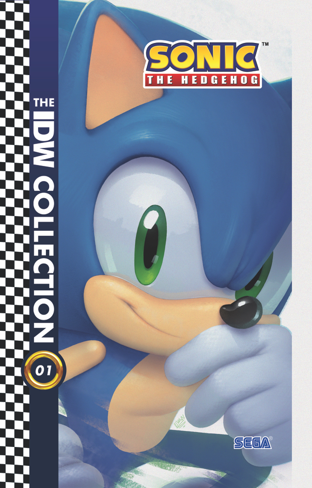 Sonic-IDWCollection01-cvr IDW Publishing March 2021 Solicitations