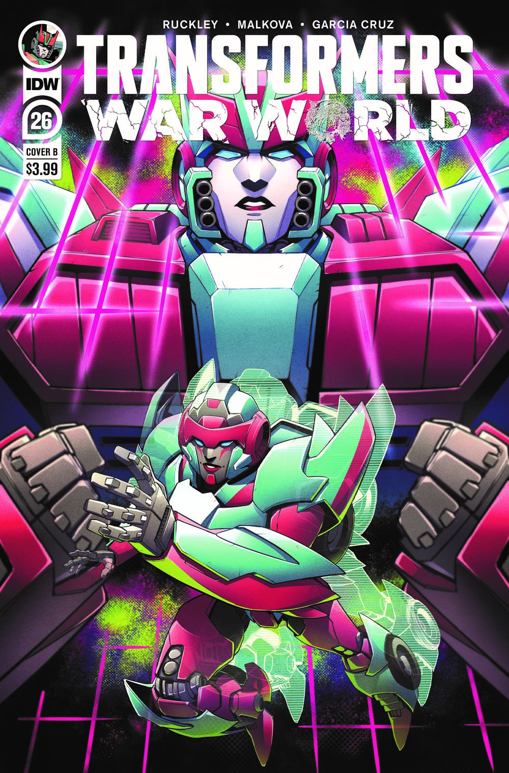 TF26-cvr-B ComicList Previews: TRANSFORMERS #26