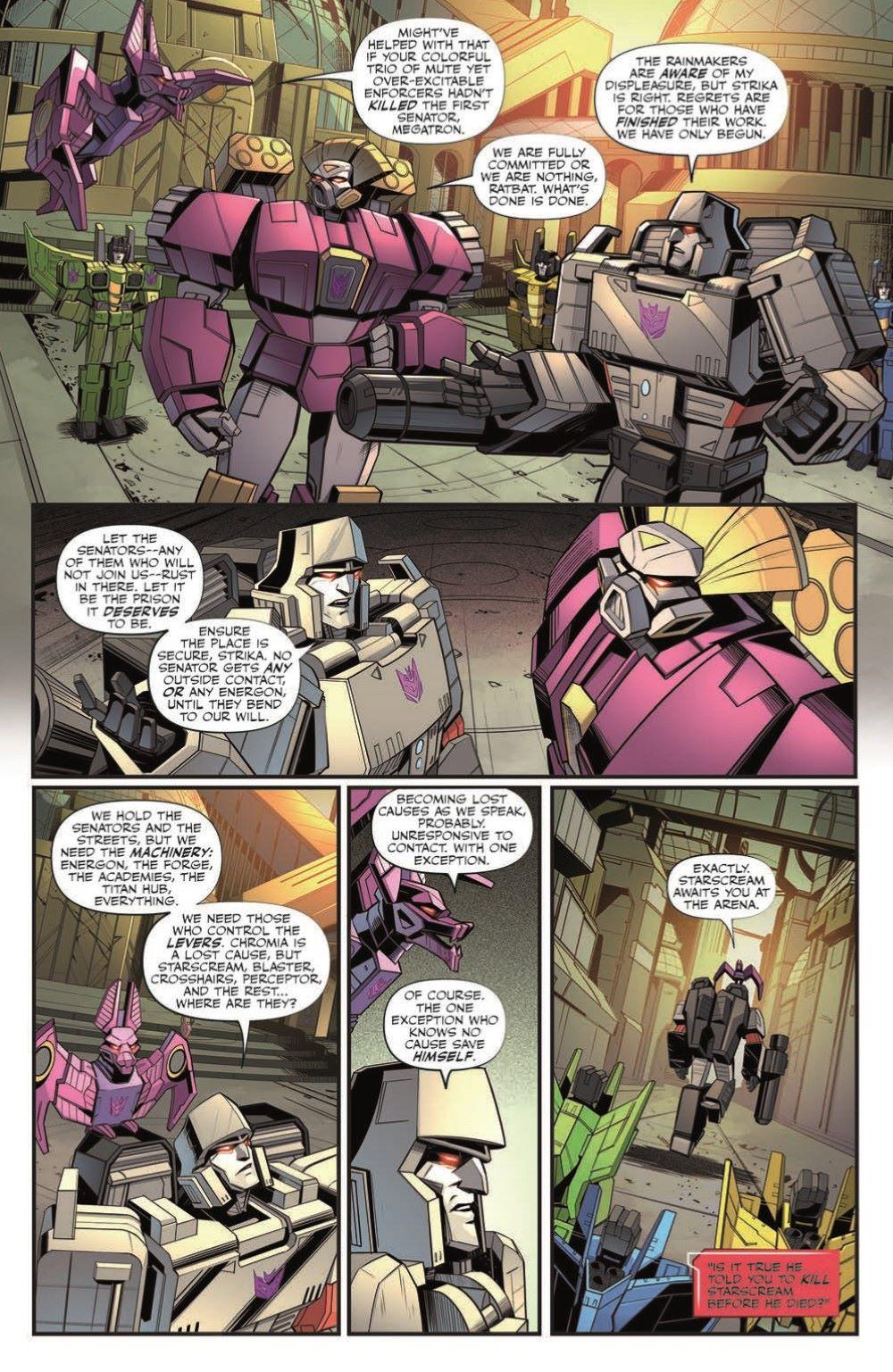TF26-pr-7 ComicList Previews: TRANSFORMERS #26