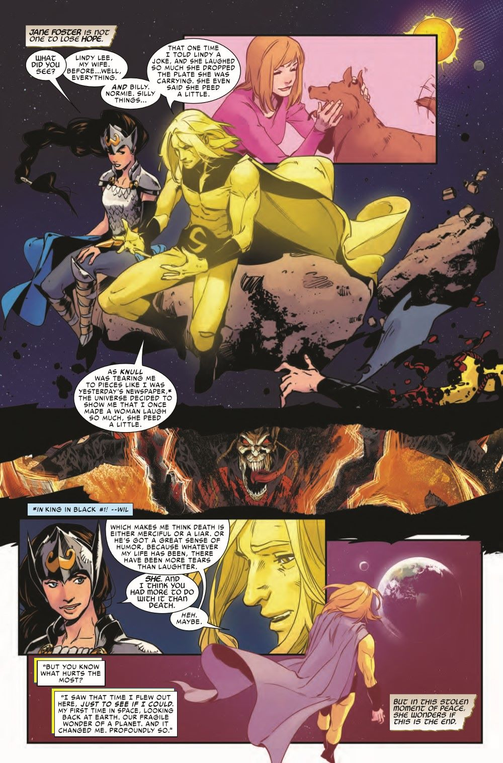 VALKYRIESRET2021001_Preview-5 ComicList Previews: KING IN BLACK RETURN OF THE VALKYRIES #1 (OF 4)