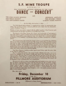 mimetroupe-edit-231x300 Concert Poster Conversation Recap: The History of The Fillmore and Bill Graham