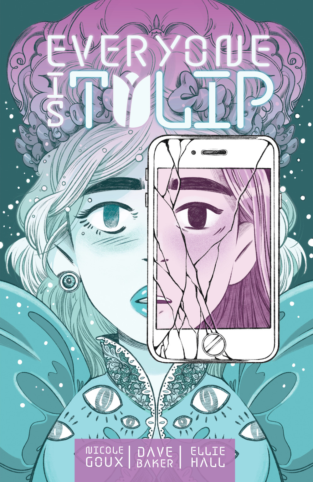 tulipcov Online fame is explored in the Dark Horse graphic novel EVERYONE IS TULIP