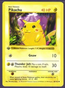 1-221x300 Pokémon: Top 5 Most Expensive 1st Edition Base Set Shadowless Cards