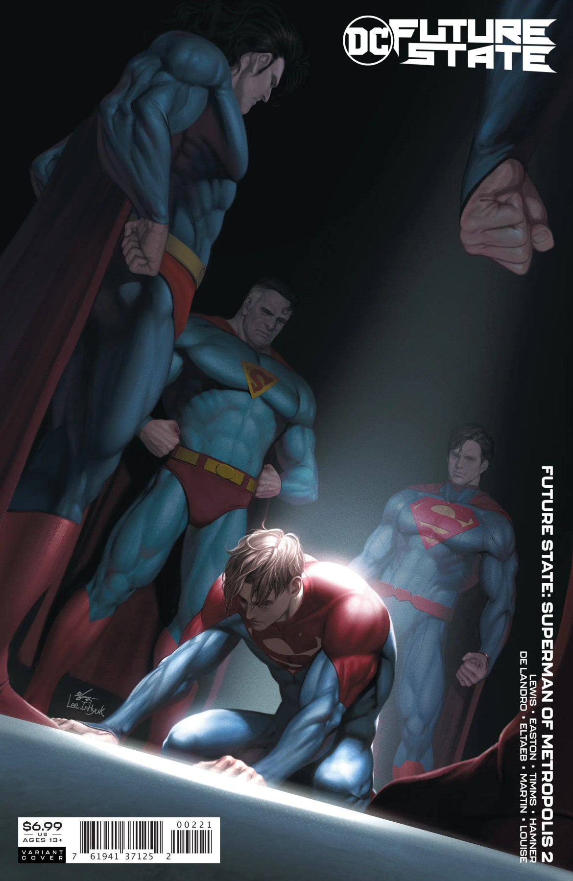 1220DC040 ComicList: New Comic Book Releases List for 02/03/2021
