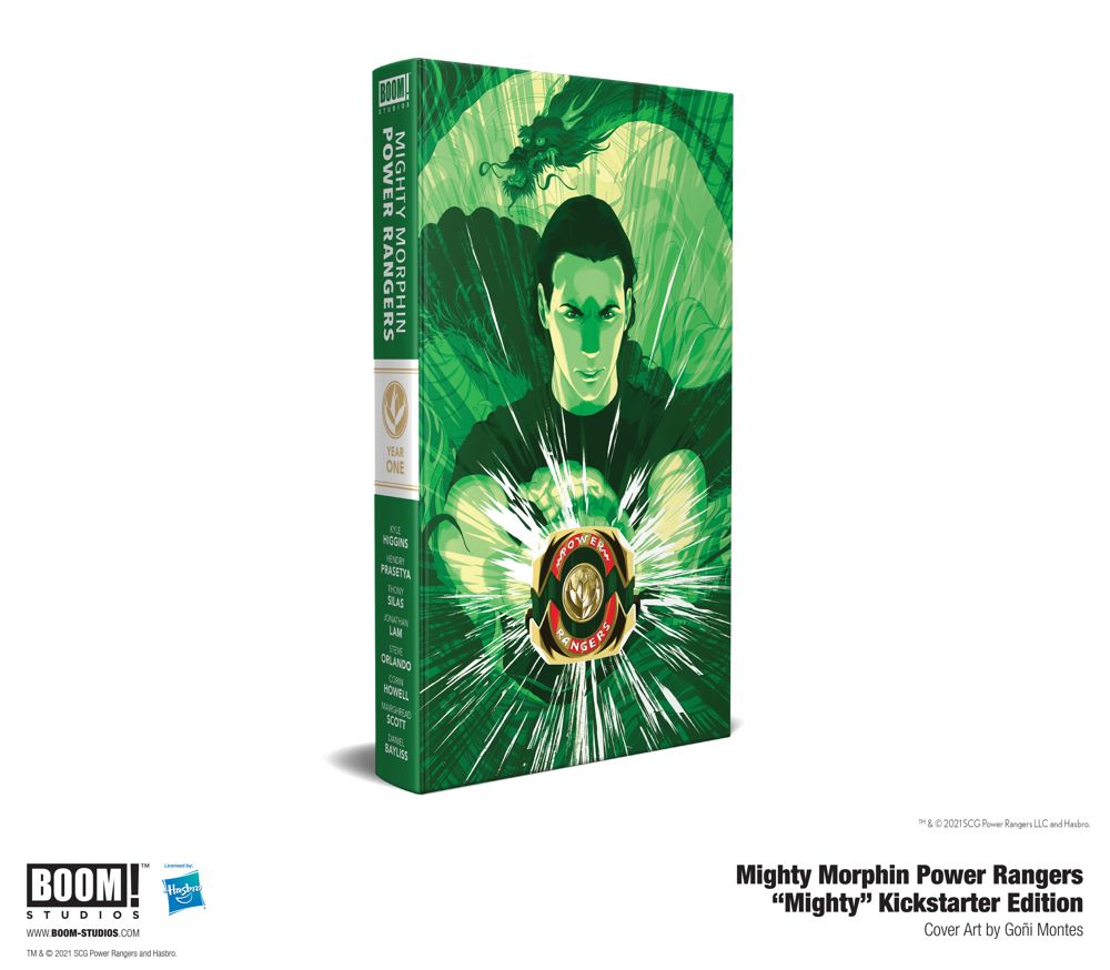 8de240a2-a685-4d37-be21-bc382494a870 BOOM! offers premium MIGHTY MORPHIN POWER RANGERS hardcovers on Kickstarter