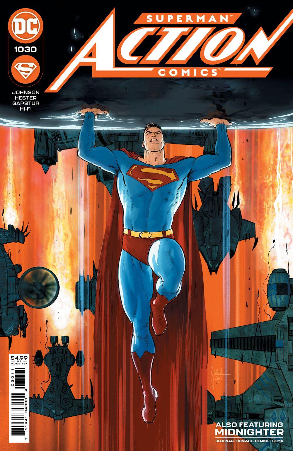 ACTIONCOMICS_Cv1030 DC Comics April 2021 Solicitations