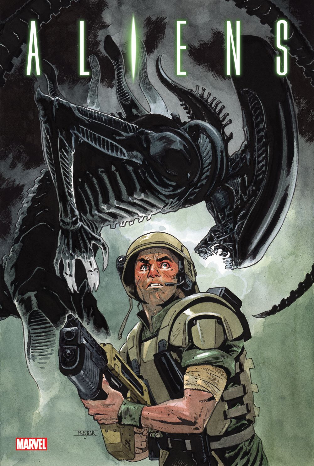 ALIENSOMNIV2HC_COV Discover more classic Alien stories in ALIENS: THE ORIGINAL YEARS OMNIBUS VOL. 2
