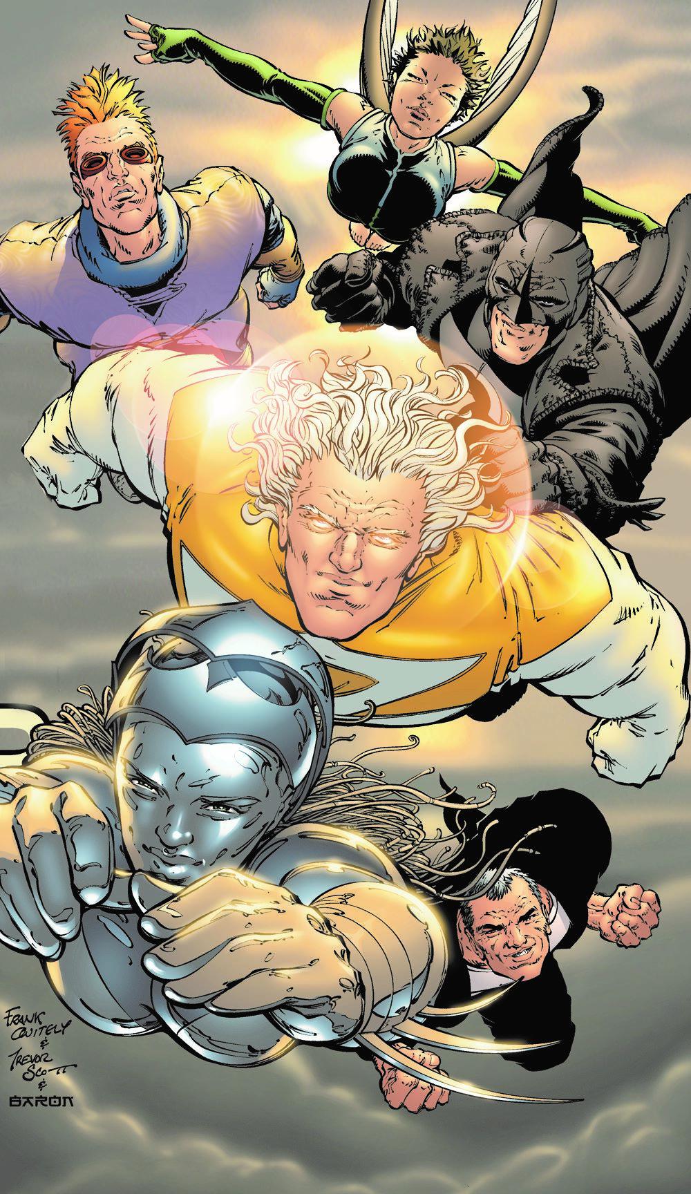 AUTHORITY-BOOK-TWO DC Comics April 2021 Solicitations