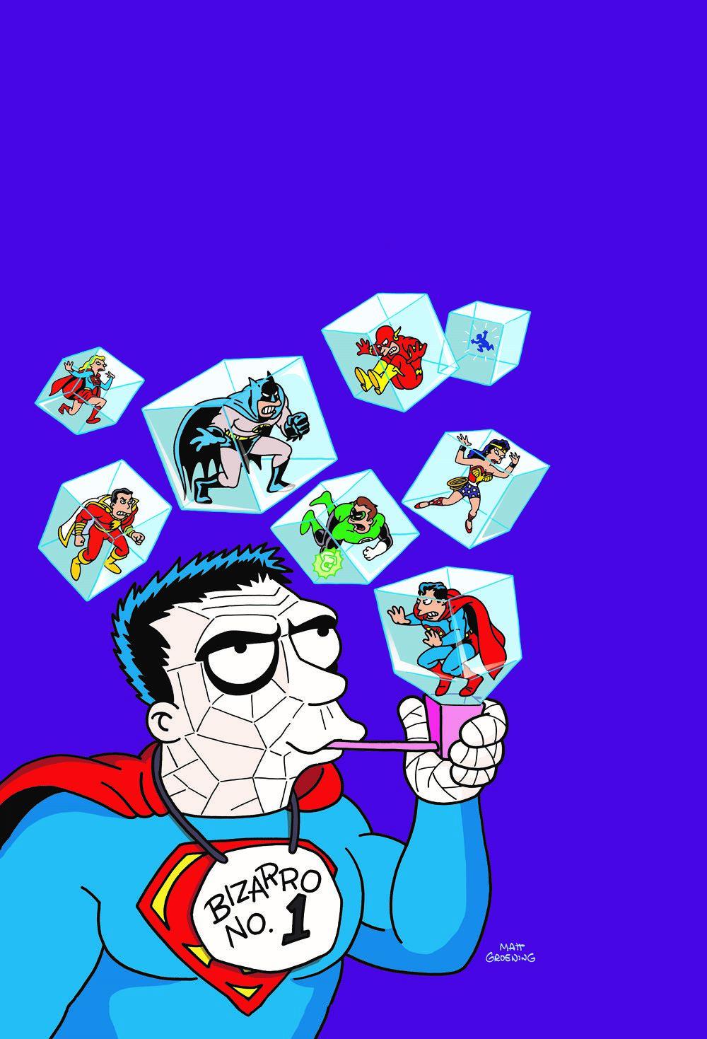 BIZARRO-COMICS-DLX-ED DC Comics April 2021 Solicitations