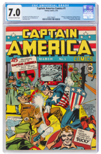 Captain-America-1-197x300 GOCOLLECT EXCLUSIVE:  MEET THE PROUD SELLER AND FORMER OWNER OF THE RECORD BREAKING BATMAN #1 (1940) CGC 9.4!