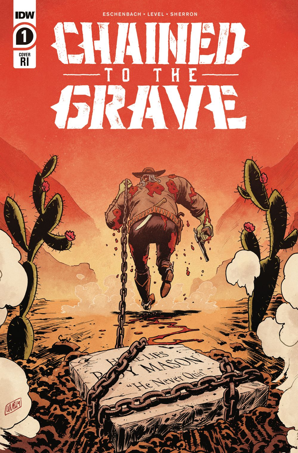 ChainedTTGrave_01_cvrRI ComicList: IDW Publishing New Releases for 02/03/2021