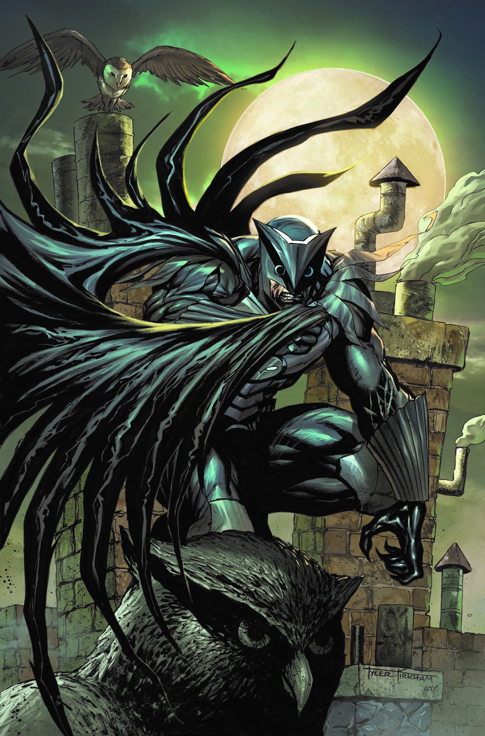 Crime-Syndicate-2-variant-Kirkham DC Comics April 2021 Solicitations