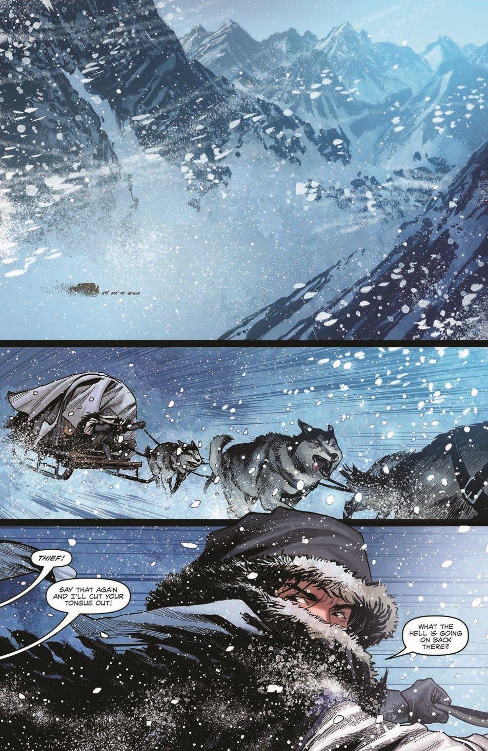 DD_ATSOTW01-pr-3 ComicList Previews: DUNGEONS AND DRAGONS AT THE SPINE OF THE WORLD #3 (OF 4)