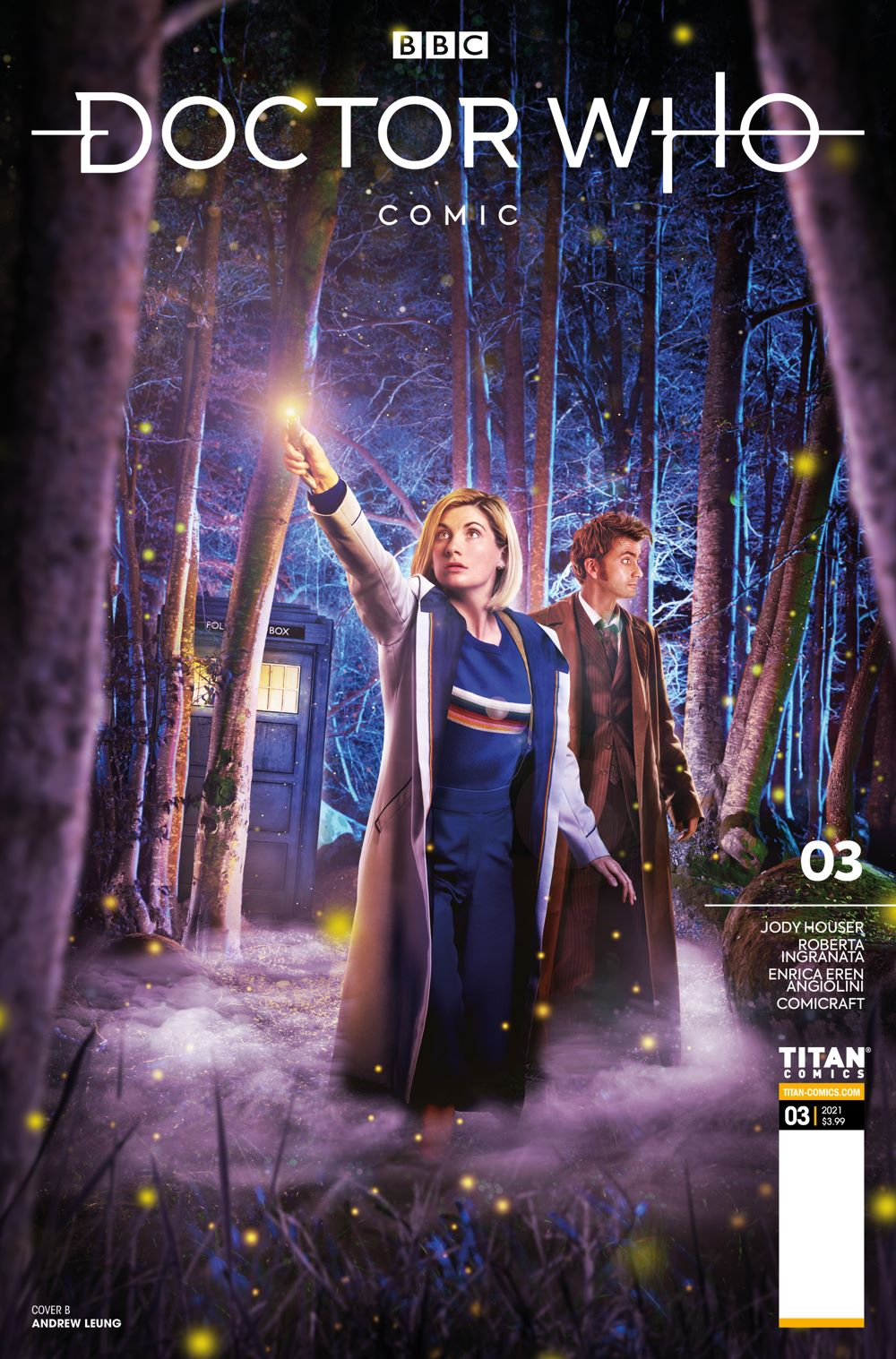 DW_3_B ComicList Previews: DOCTOR WHO COMICS #3