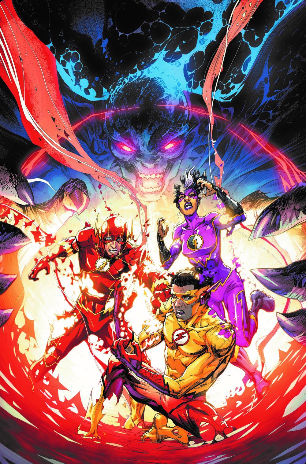 FLASH-VOL14-FLASH-AGE DC Comics April 2021 Solicitations