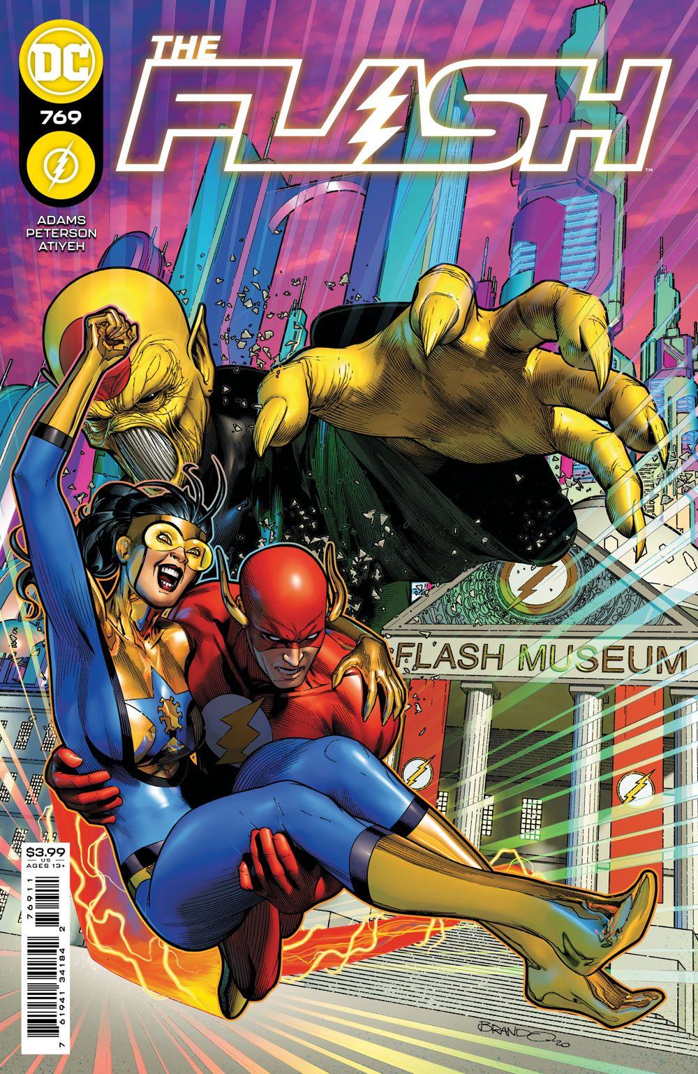 FLASH_Cv769 DC Comics April 2021 Solicitations