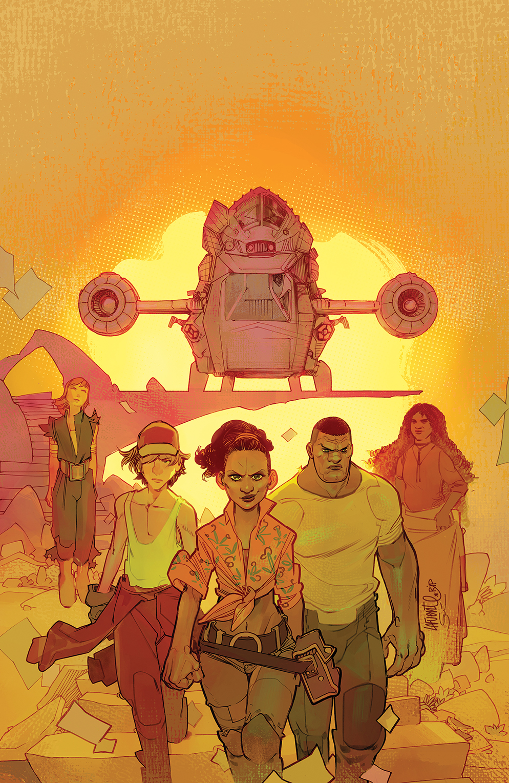 Firefly_BrandNewVerse_002_Cover_C_Variant BOOM! Studios April 2021 Solicitations