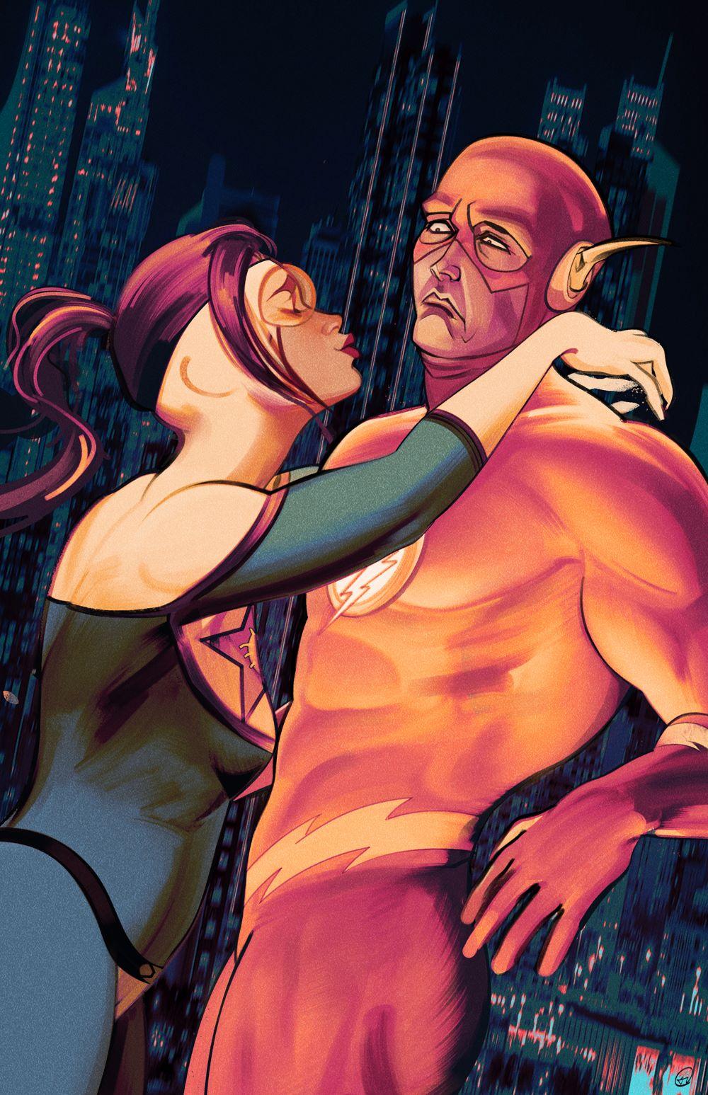 Flash-769-variant-Zi-Xu DC Comics April 2021 Solicitations