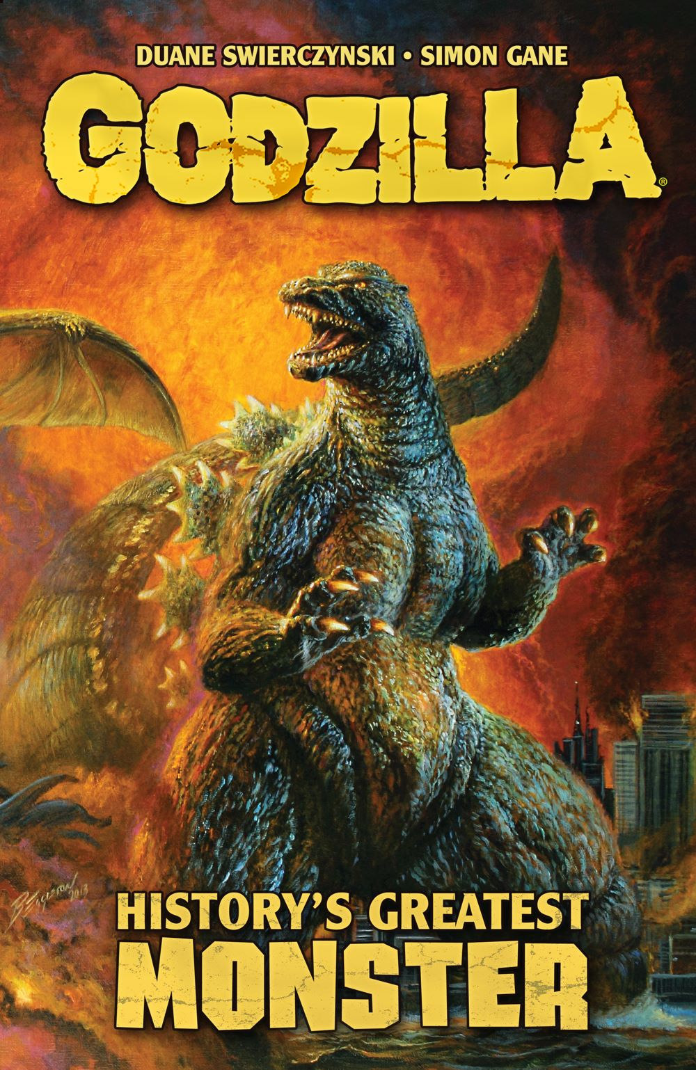 GODZILLA_HGM_COVERFRONT_CROPPED ComicList: IDW Publishing New Releases for 01/27/2021