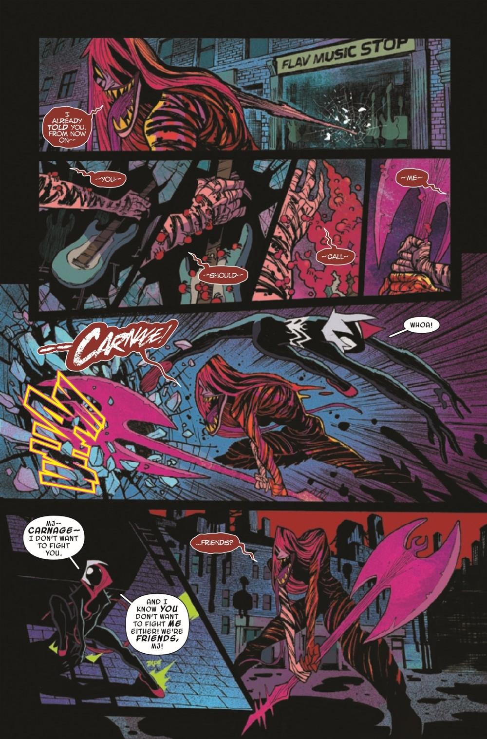 GWENOMVSCARNKIB2021002_Preview-5 ComicList Previews: KING IN BLACK GWENOM VS CARNAGE #2 (OF 3)