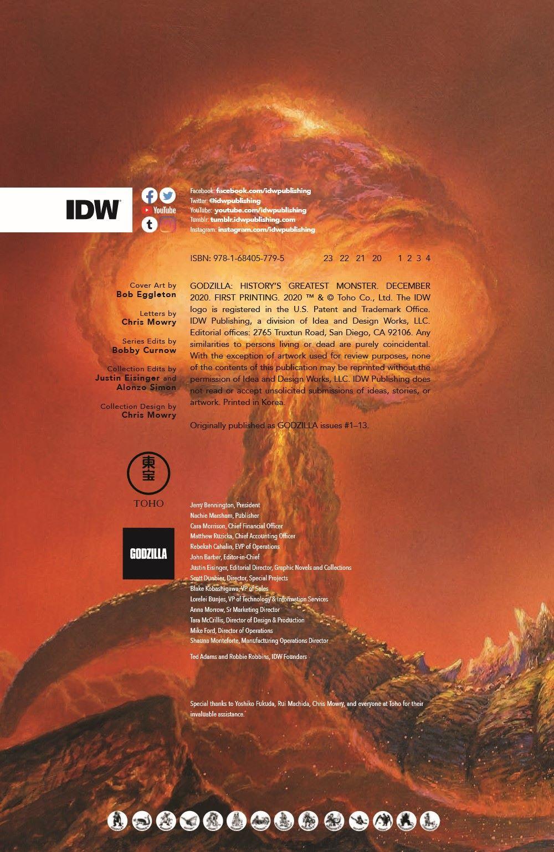 Godzilla_HistoryGM_20_pr-2 ComicList Previews: GODZILLA HISTORY'S GREATEST MONSTER TP (NEW PRINTING)
