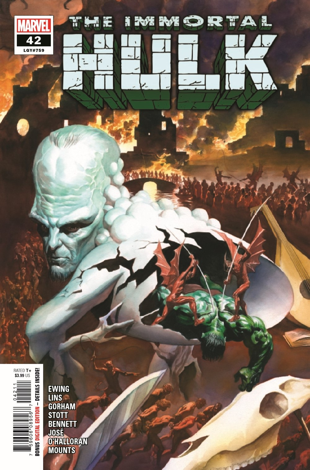 HULK2018042_Preview-1 ComicList Previews: IMMORTAL HULK #42