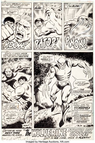 IH-180-interior-200x300 The First Wolverine Cameo: Incredible Hulk #180