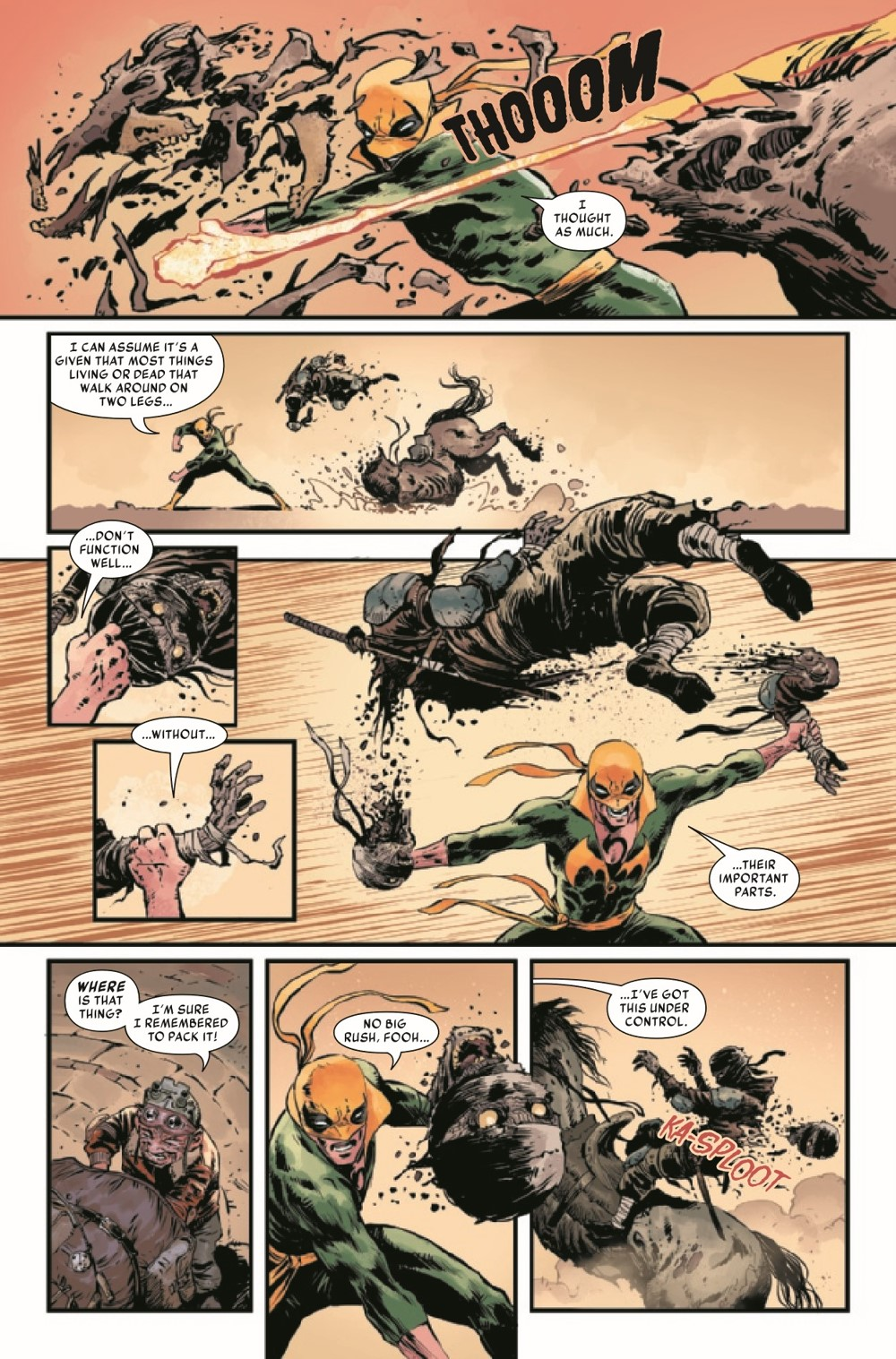 IRONFISTHOD2021001_Preview-5 ComicList Previews: IRON FIST HEART OF THE DRAGON #1 (OF 6)