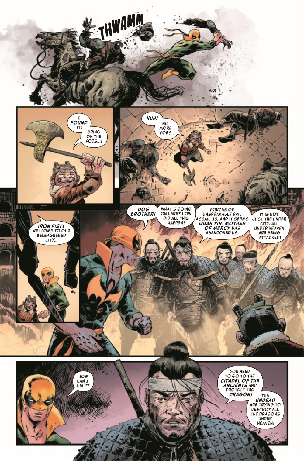 IRONFISTHOD2021001_Preview-6 ComicList Previews: IRON FIST HEART OF THE DRAGON #1 (OF 6)