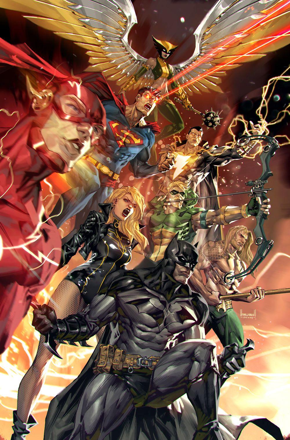 JL-60-variant-Kael-Ngu DC Comics April 2021 Solicitations