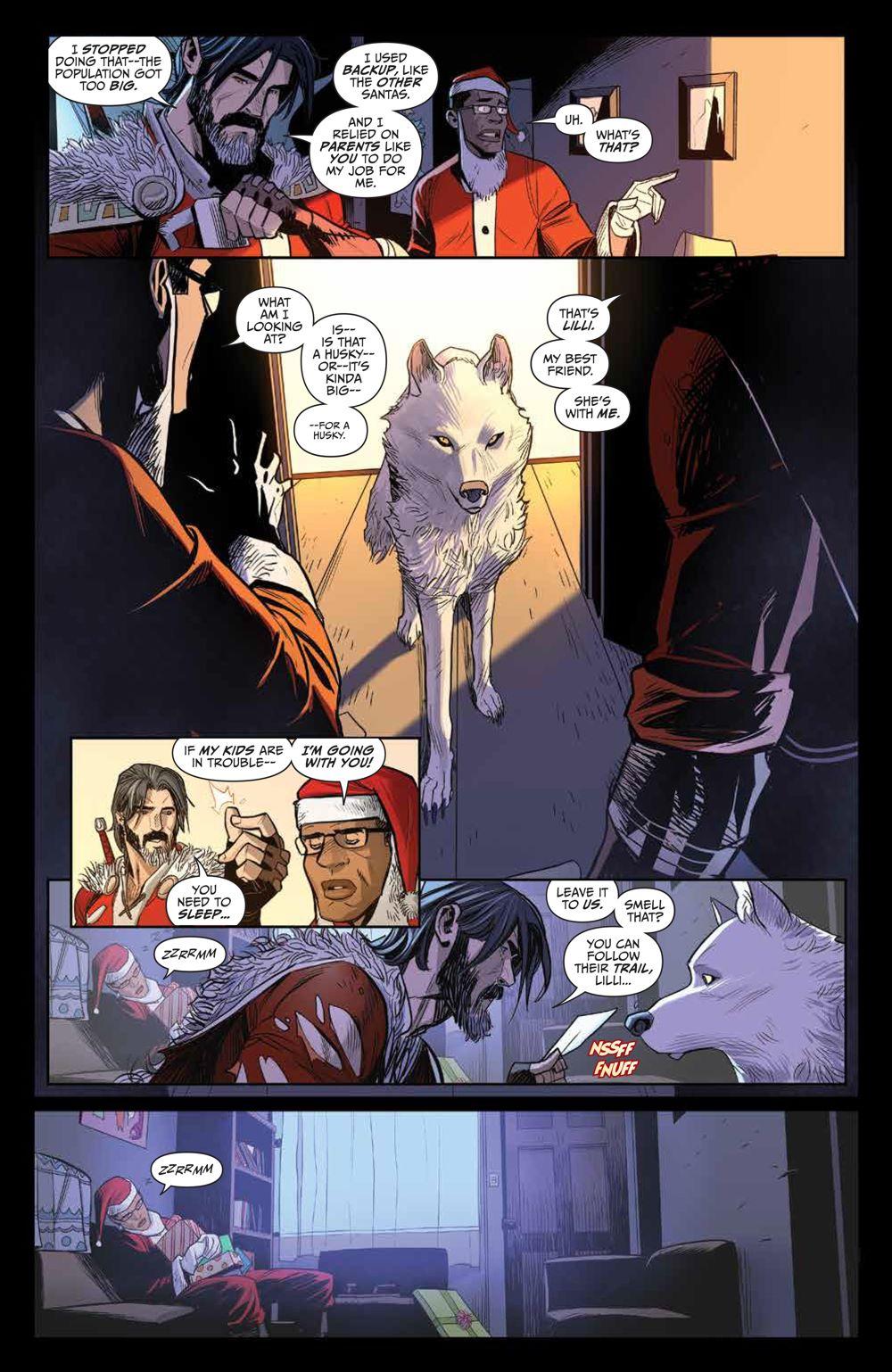 Klaus_NewAdventures_SC_PRESS_15 ComicList Previews: KLAUS THE NEW ADVENTURES OF SANTA CLAUS GN