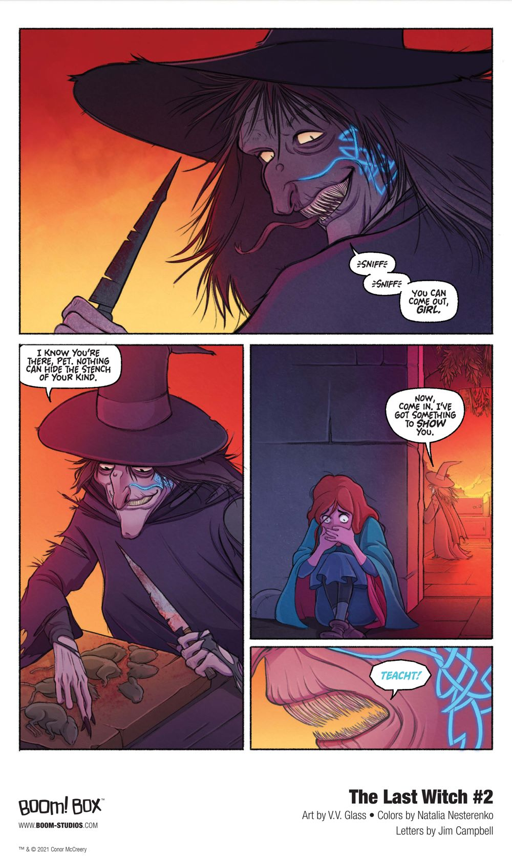 LastWitch_002_InteriorArt_003_PROMO First Look at BOOM! Studios' THE LAST WITCH #2
