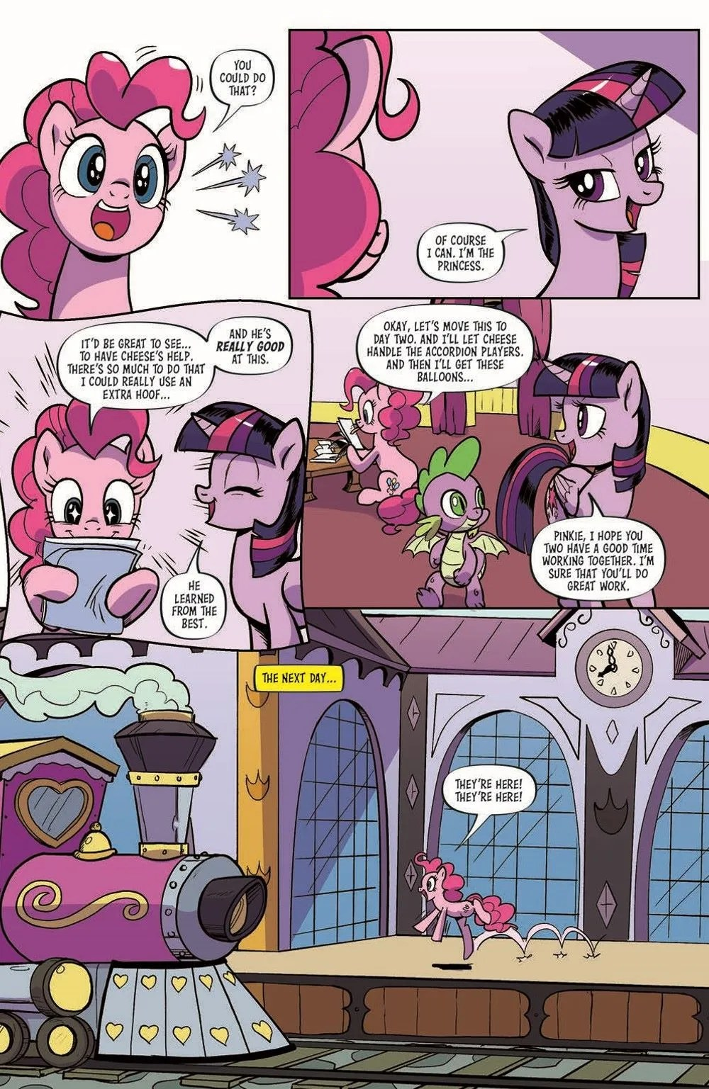 MLP94-pr-7 ComicList Previews: MY LITTLE PONY FRIENDSHIP IS MAGIC #94