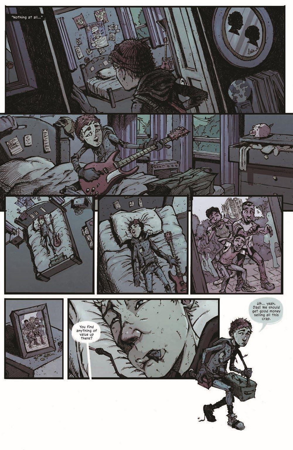 MTNH-TPB_pr-8 ComicList Previews: MOUNTAINHEAD VOLUME 1 TP