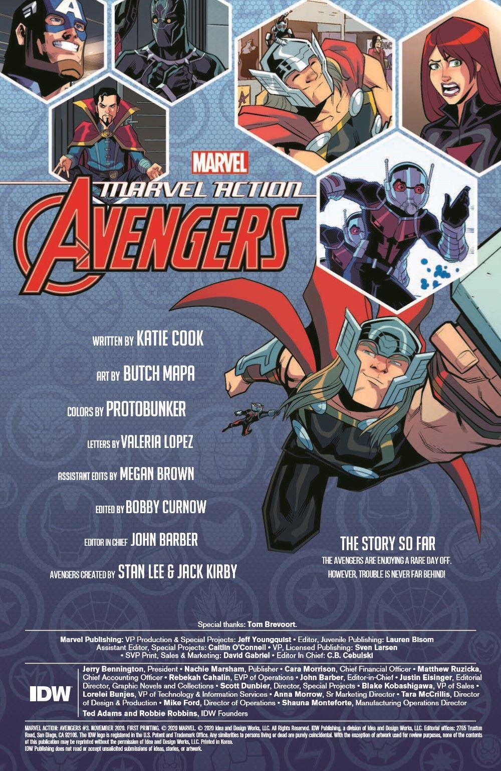 Marvel_Avengers_03_pr-2 ComicList Previews: MARVEL ACTION AVENGERS VOLUME 2 #3