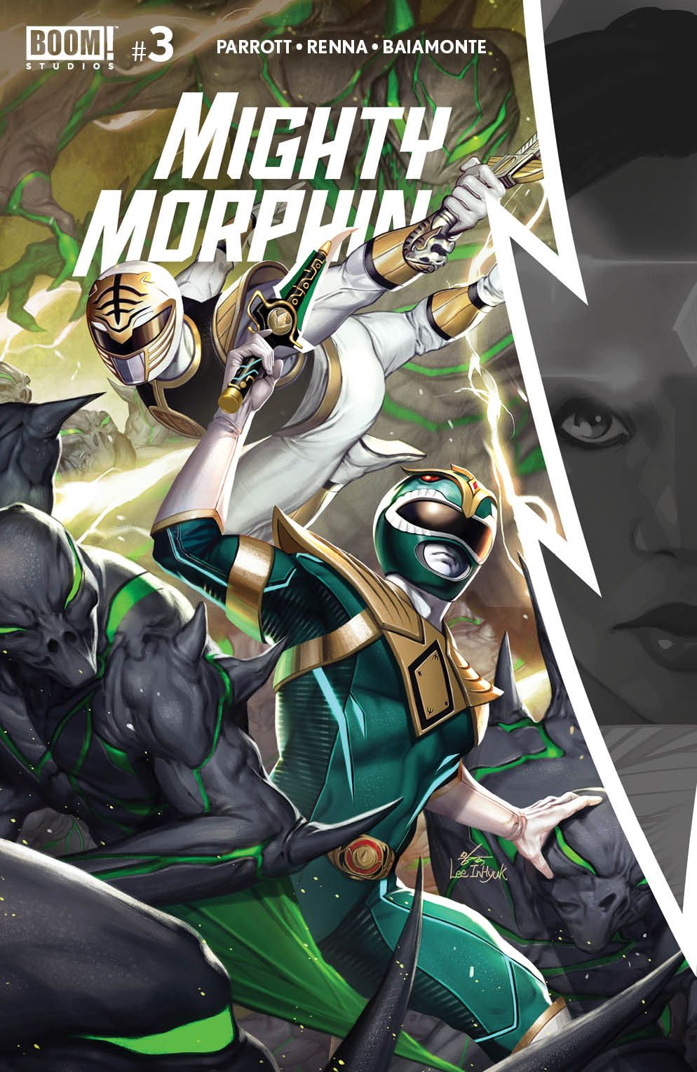 MightyMorphin_003_Cover_A_Main ComicList Previews: MIGHTY MORPHIN #3