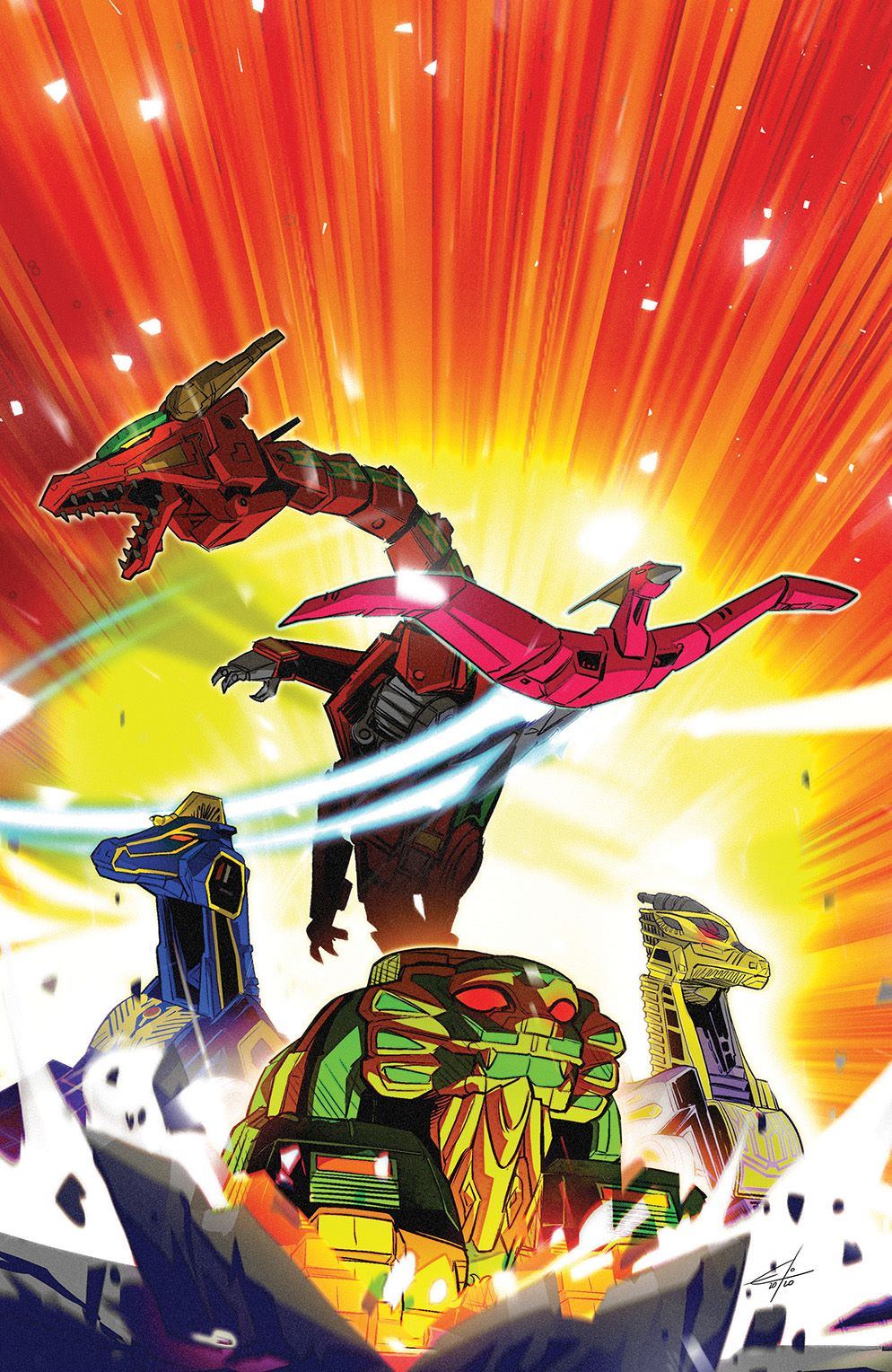 MightyMorphin_003_Cover_E_Variant ComicList Previews: MIGHTY MORPHIN #3