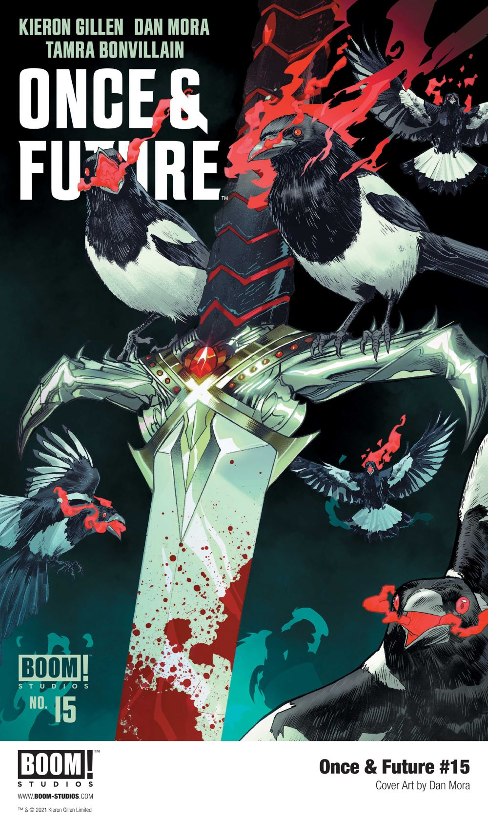 OnceFuture_015_Cover_Main_PROMO First Look at BOOM! Studios' ONCE AND FUTURE #15