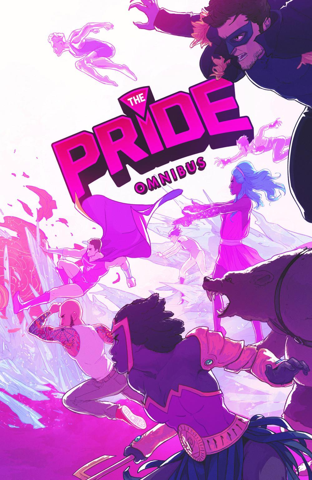 PRIDE_TPB_CVR_4X6_SOL Dark Horse Comics April 2021 Solicitations