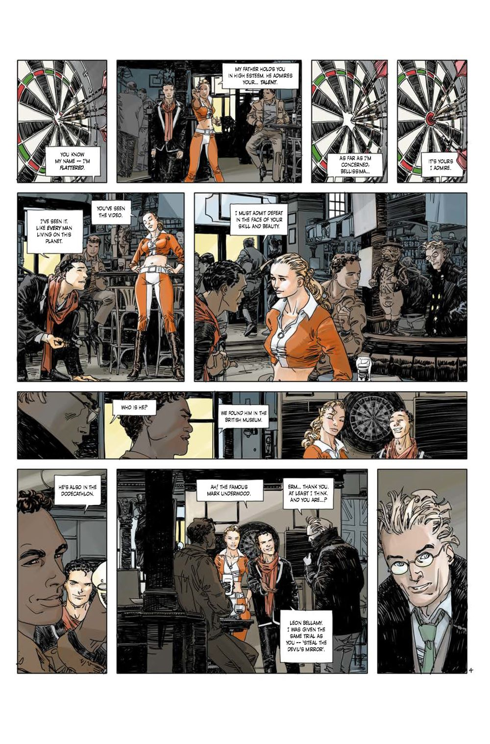 Page_4 ComicList Previews: CUTTING EDGE THE DEVIL'S MIRROR #1 (OF 2)